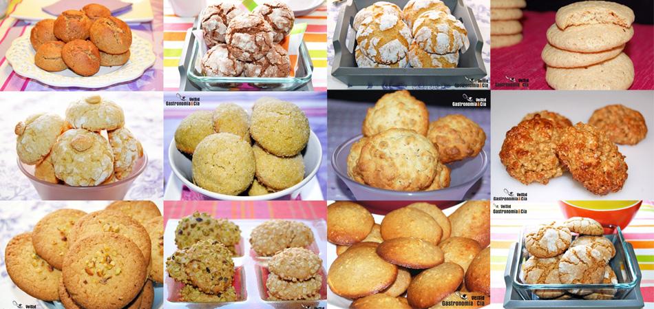 Doce recetas de galletas con frutos secos