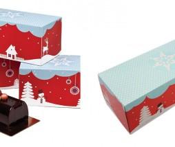 Caja para tronco de Navidad