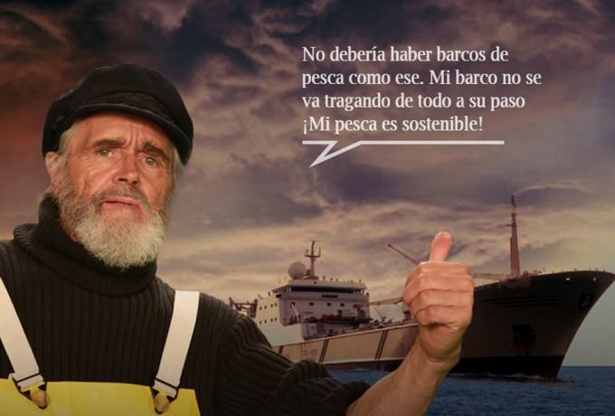 Greenpeace contra los super pesqueros