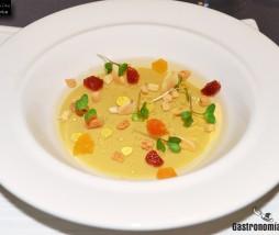 Cremoso de foie con moscatel y frutos secos