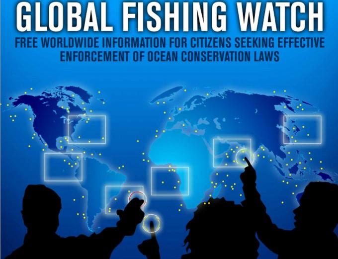 Mapa en tiempo real de la pesca en el mundo
