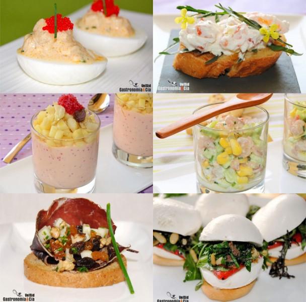 Recetas de aperitivos para Nochevieja y Año Nuevo
