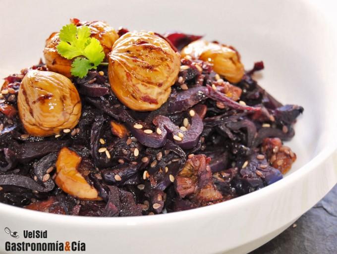 Recetas de col lombarda para guarnici n for Como cocinar col lombarda