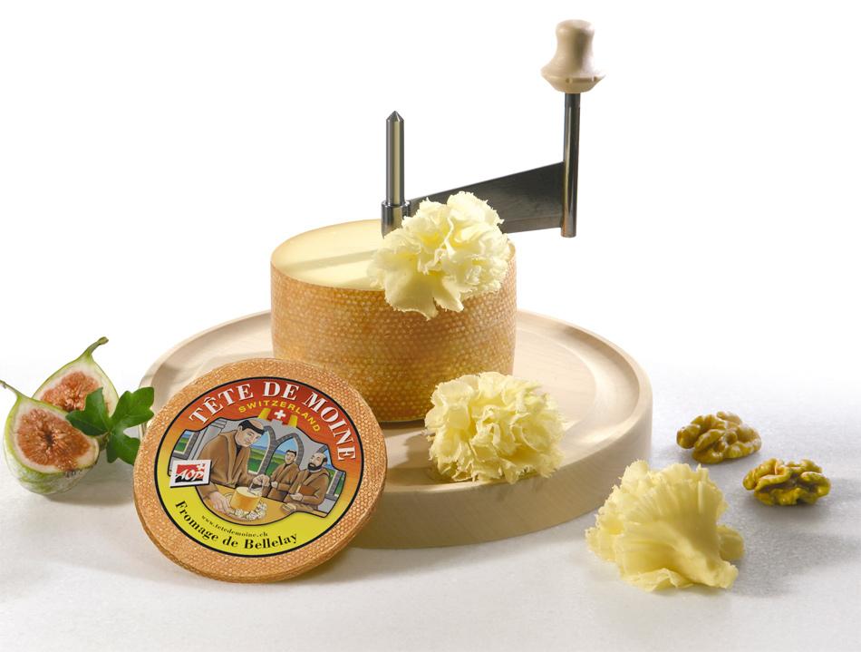 Girolle cortador de queso t te de moine gastronom a c a - Cortador de queso ...