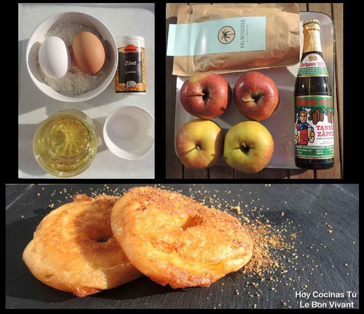 Hoy Cocinas Tú: Buñuelos de manzana