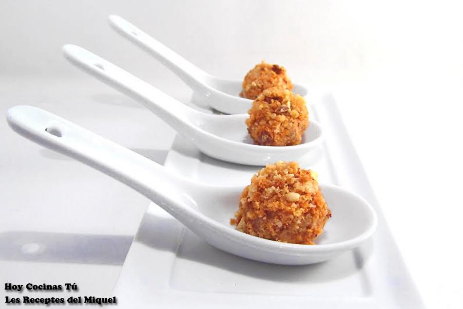 Hoy Cocinas Tú: Bombón de foie y carquinyolis
