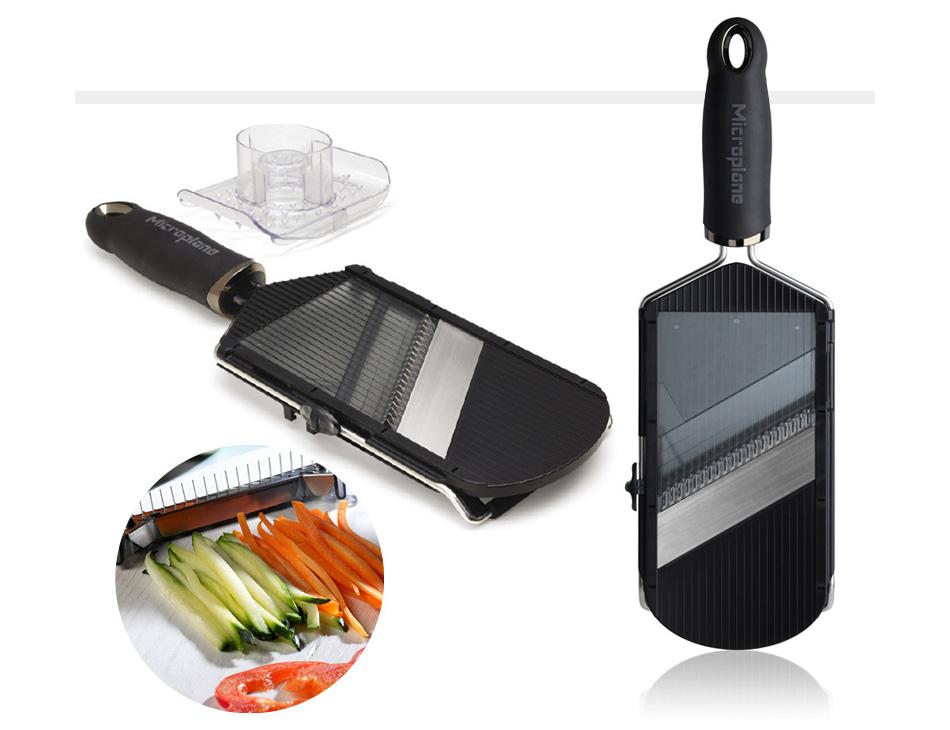Mandolina de mano microplane gastronom a c a for Mandolina utensilio de cocina