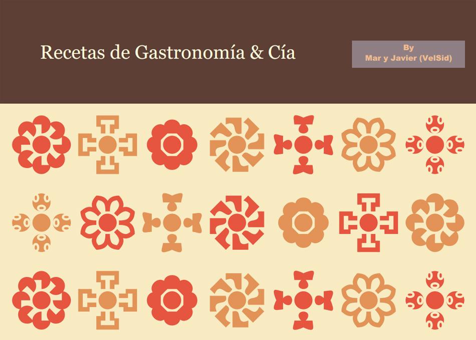 Plantillas para hacer un libro de recetas caseras | Gastronomía & Cía
