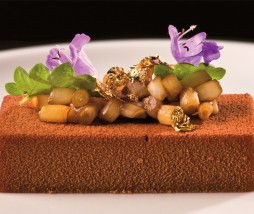 Turrón de foie gras. Receta