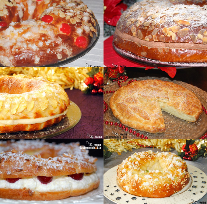Recetas Roscón de Reyes