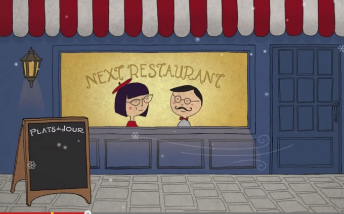 Menús en Next Restaurant