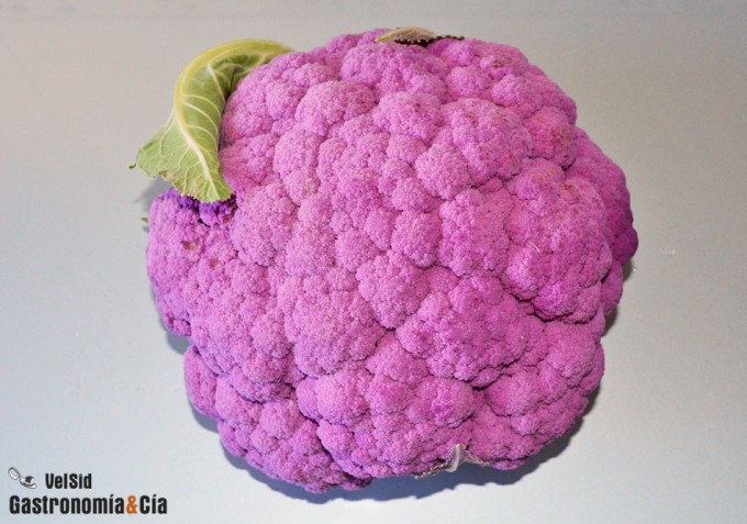 Coliflor violeta