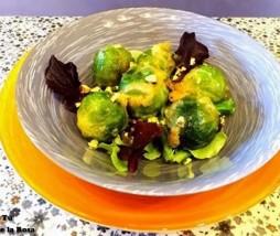 Hoy Cocinas Tú: Falso falafel de col de Bruselas