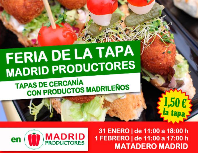 Feria de la Tapa Madrid Productores