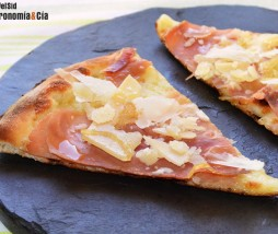 Receta de pizza sin tomate