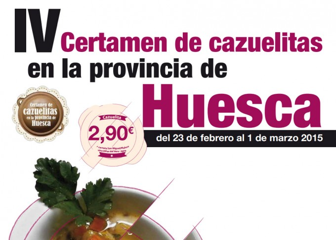 Certamen de Cazuelitas Provincia de Huesca