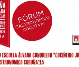 """Concurso """"Cociñeiro Junior"""" Fórum Gastronómico Coruña 2015"""