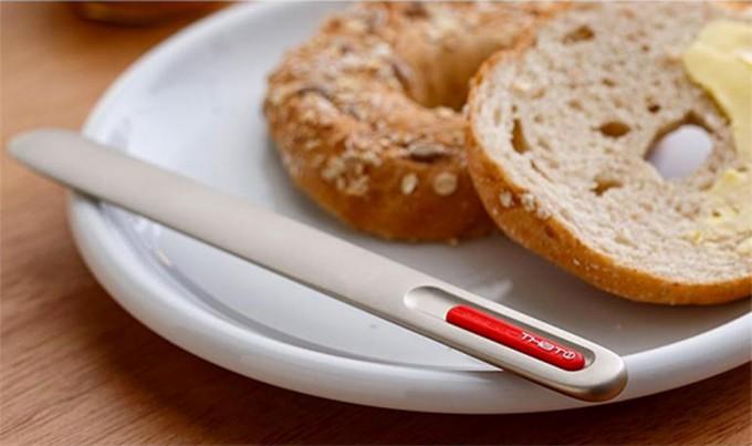 Cuchillo para mantequilla spreadthat gastronom a c a for Cuchillo para untar mantequilla