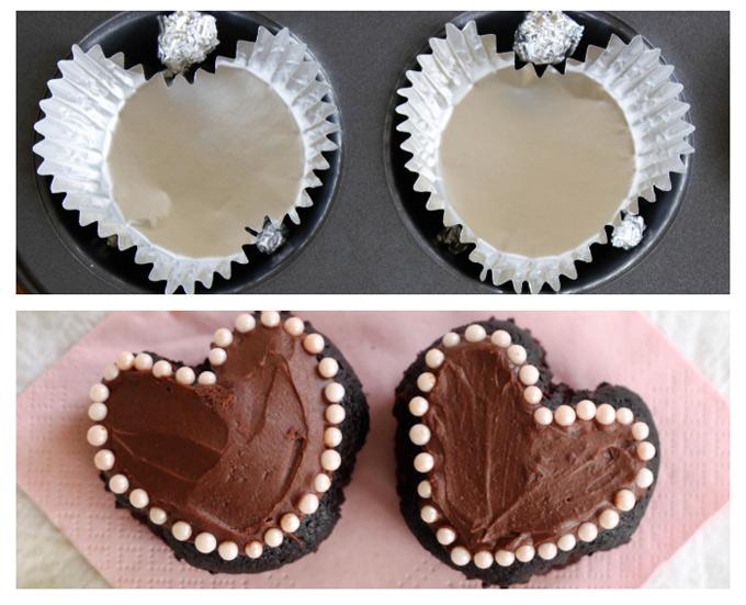 C mo hacer magdalenas o cupcakes con forma de coraz n - Madalenas o magdalenas ...