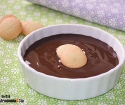 Natillas de chocolate y café
