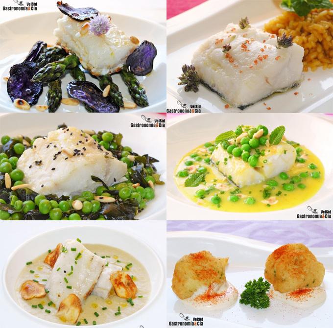 Doce recetas fáciles con bacalao