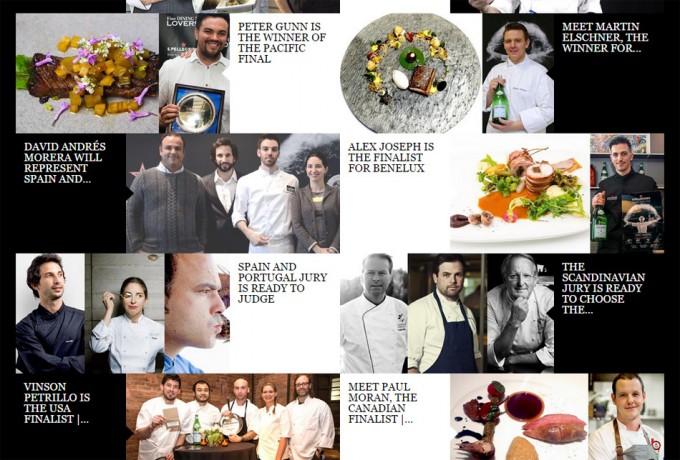 Finalistas del S. Pellegrino Young Chef 2015
