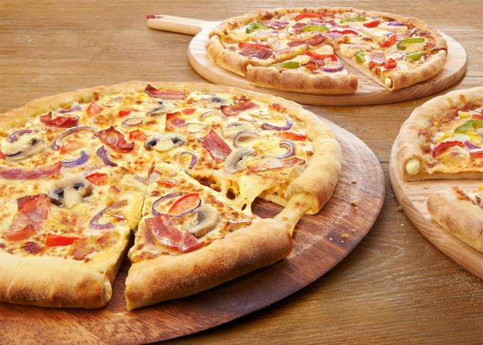 Pizzas con transgenicos