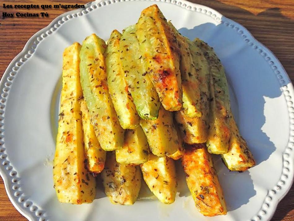 Hoy cocinas t bastoncitos arom ticos de calabac n for Cenas rapidas y economicas