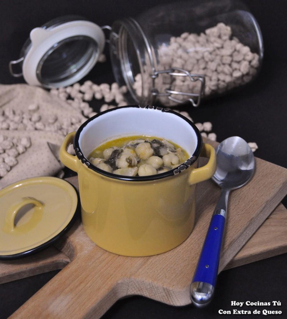 Hoy cocinas t garbanzos con bacalao y espinacas - Cocina y cia ...
