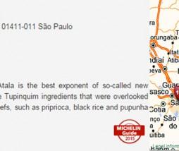 Guía Michelin de Río de Janeiro y Sao Paulo 2015