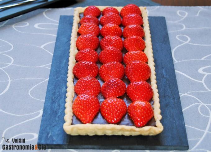 Postres y tartas con fresas