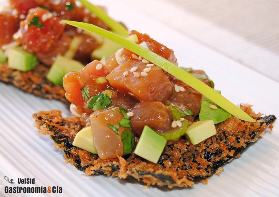 Recetas de tartar de pescado y de marisco