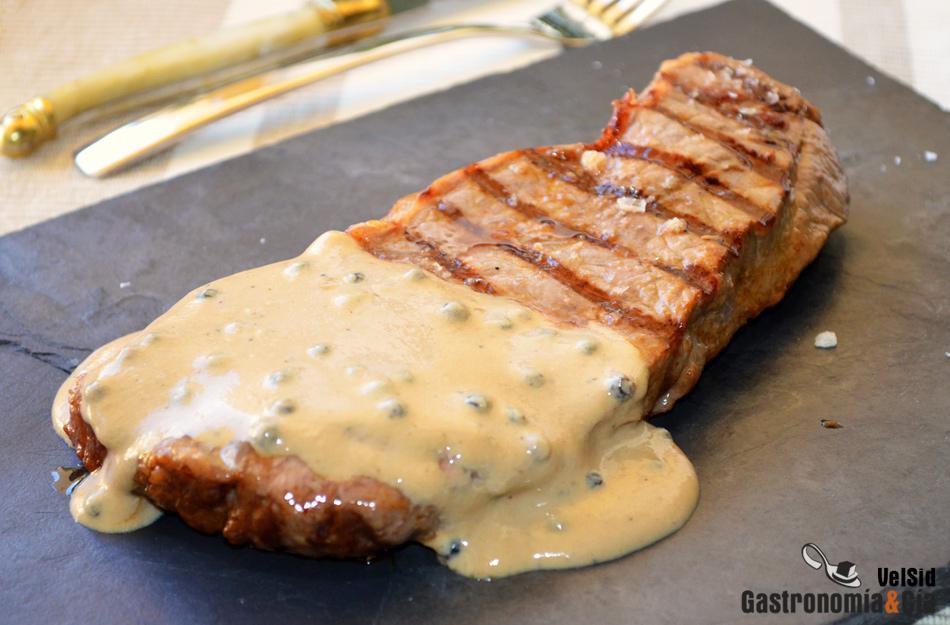 Receta De Salsa A La Pimienta Para Carnes Gastronomía Cía