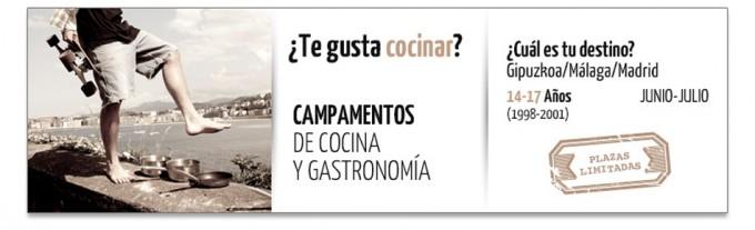 Campamentos Gastronómicos del Basque Culinary Center 2015