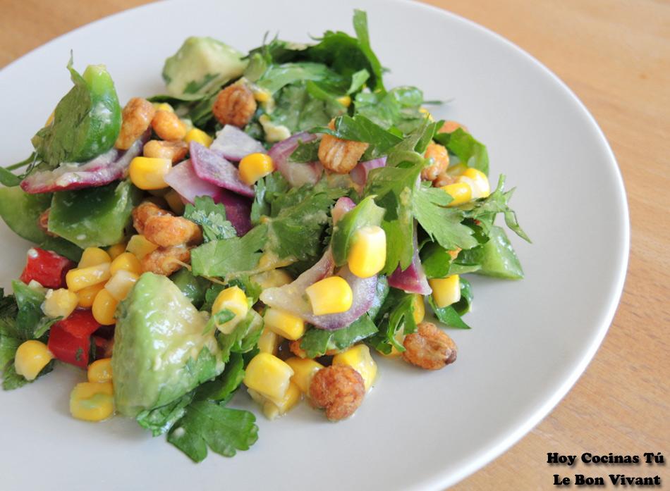 Hoy Cocinas Tú: Ensalada de maíces