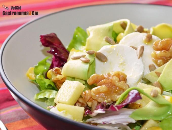 Recetas de ensalada con fruta