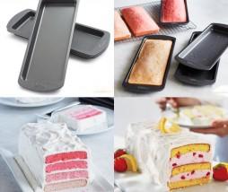 Wilton 4-Layer Cake Rectangle Pan Set