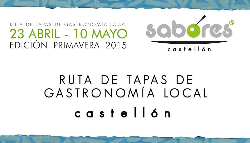 Ruta de tapas sabores castell n abril 2015 gastronom a c a for Cursos de cocina en castellon