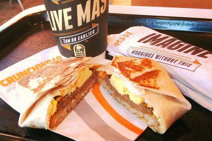 Desayuno Taco Bell
