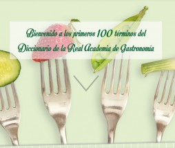 Fragmento del diccionario de términos gastronómicos de la RAG
