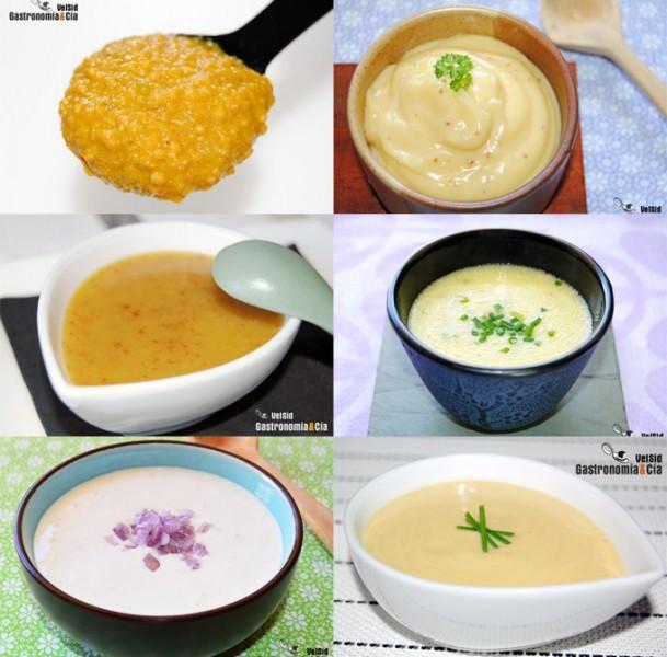 Salsas y vinagretas con mostaza