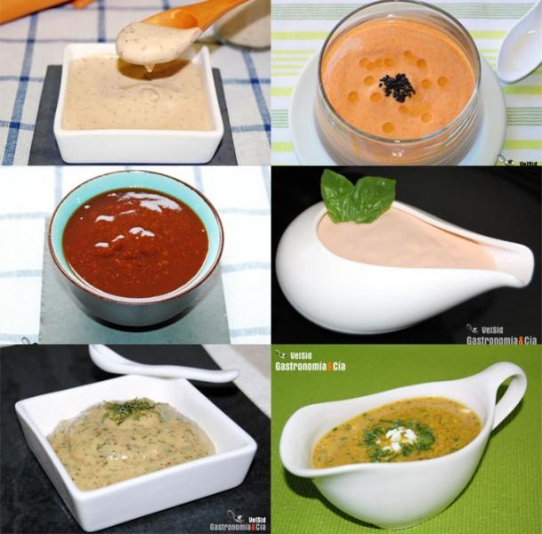 Salsas con mostaza