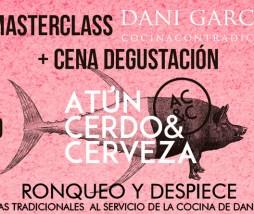 Atún, cerdo y cerveza con Dani García