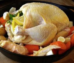 Carne de pollo contaminada