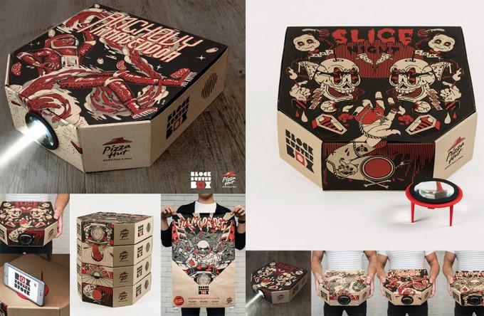 Proyector Pizza Hut