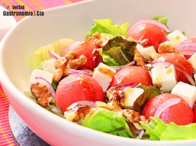 Mimamacocinamejor Recetas Saladas Con Sandía