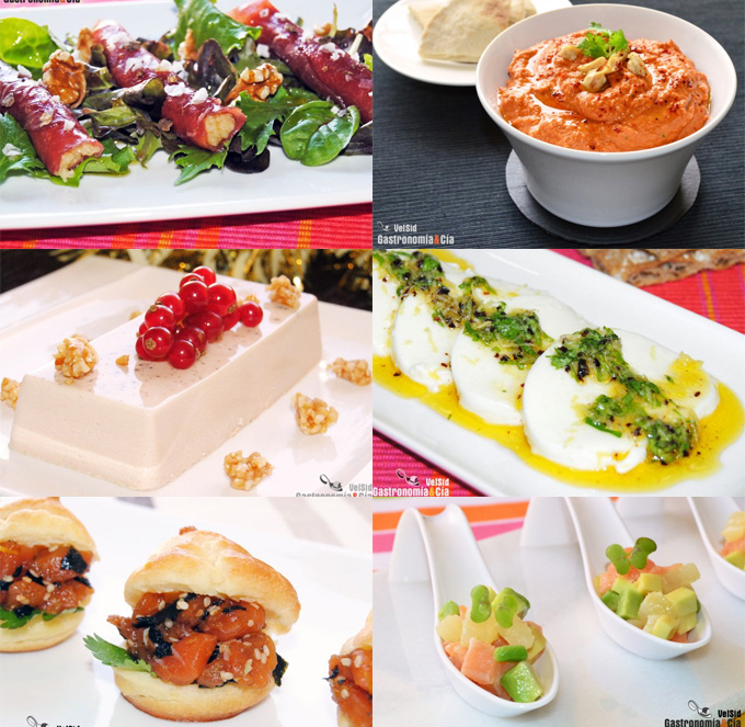 Doce aperitivos para la cena de san juan gastronom a c a for Platos para aperitivos