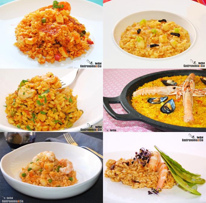 Recetas de arroz con marisco