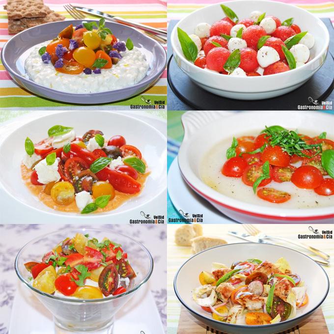 Recetas con tomates cherry