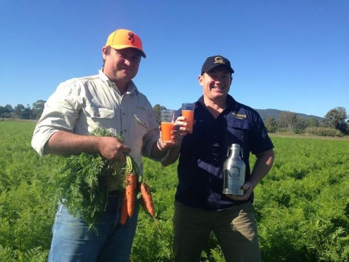 cerveza de zanahorias